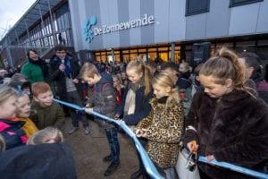Opening nieuw schoolplein De Zonnewende